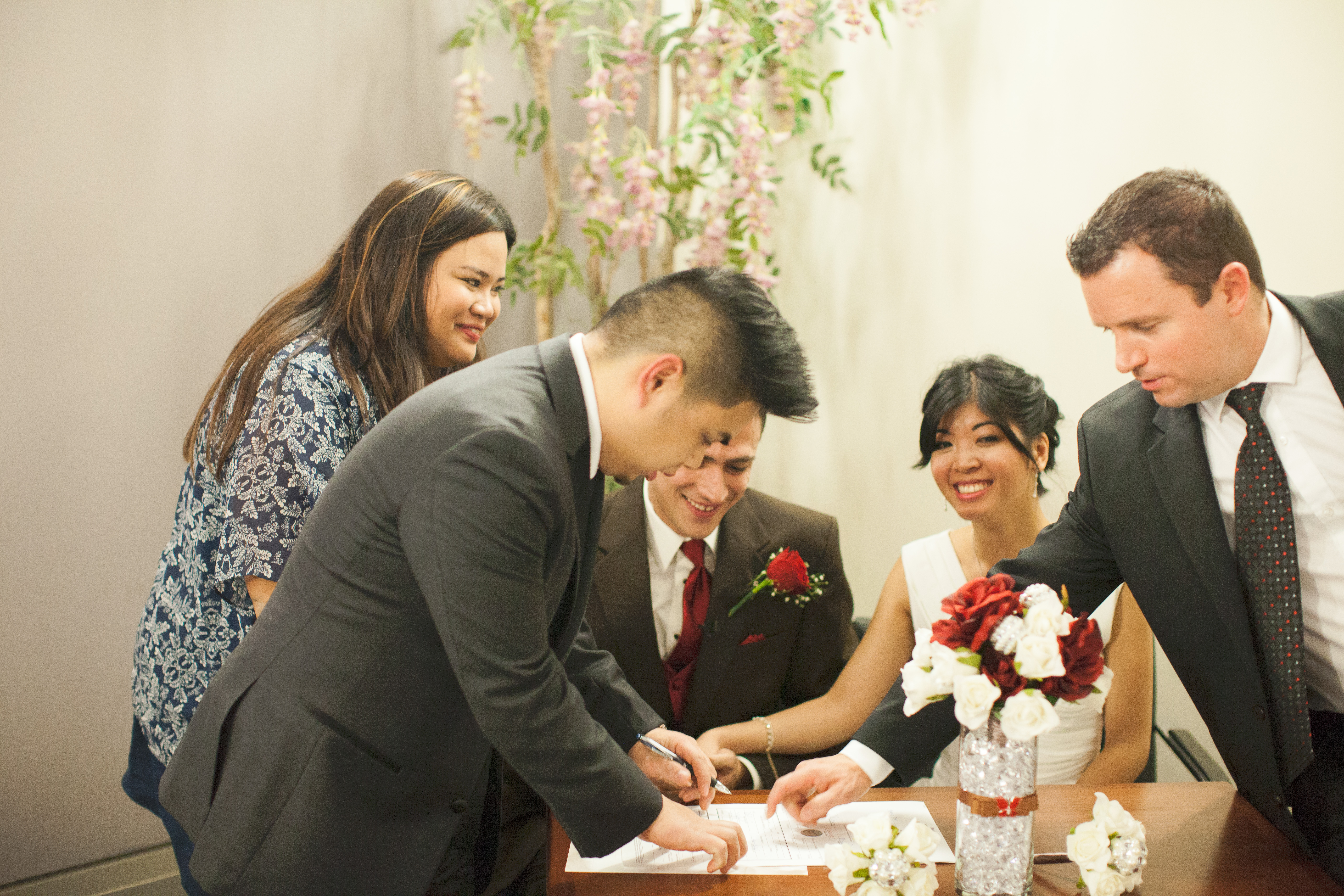 City Hall Marriage Ceremony Toronto